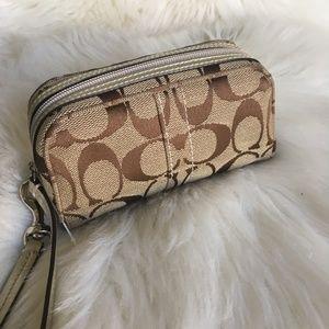 Coach Cosmetic Bag Wristlet